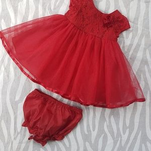 Other - Infant Red Gown